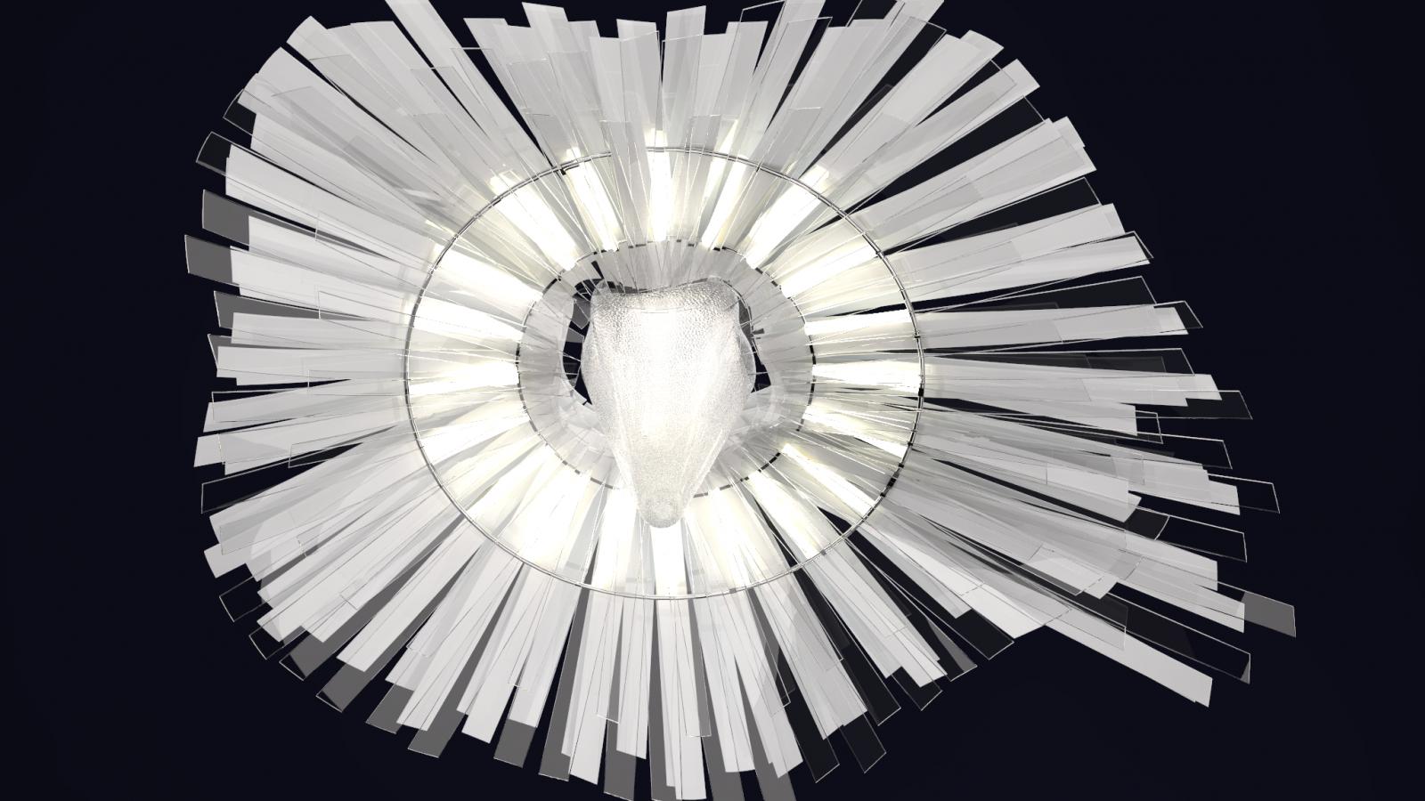 design ballet hall light 2